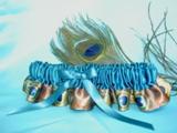 Peacock Garters
